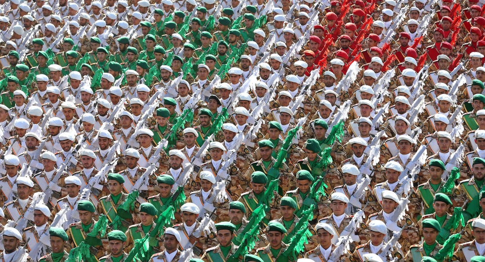 Parada wojskowa w Iranie