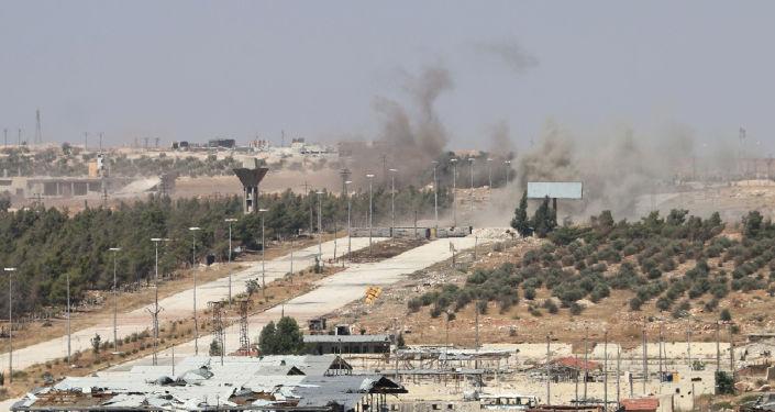 Droga Castello, prowadząca do Aleppo
