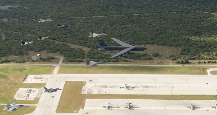 Amerykańska baza wojskowa na wyspie Guam