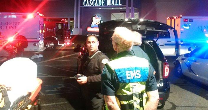 Strzelanina w centrum handlowym Cascade Mall w mieście Burlington w stanie Waszyngton w USA