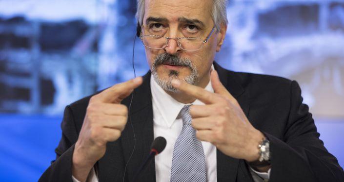 Постоянный представитель Сирии при ООН Башар Джафари в Москве