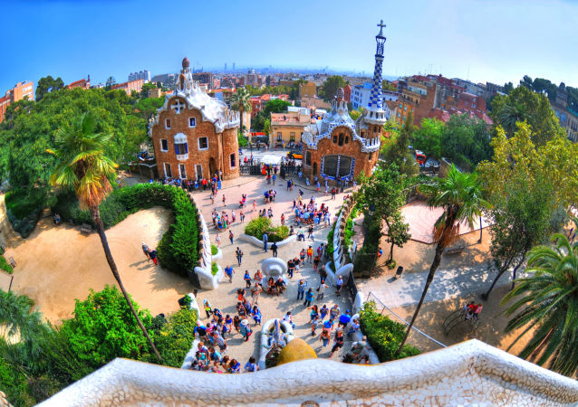 Hiszpania. Park Guell