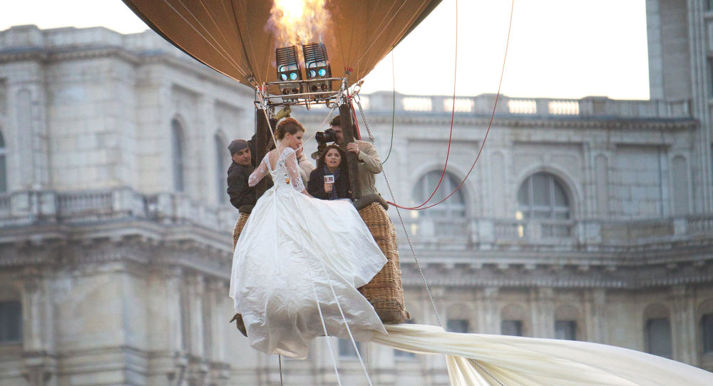 Ślub w balonie