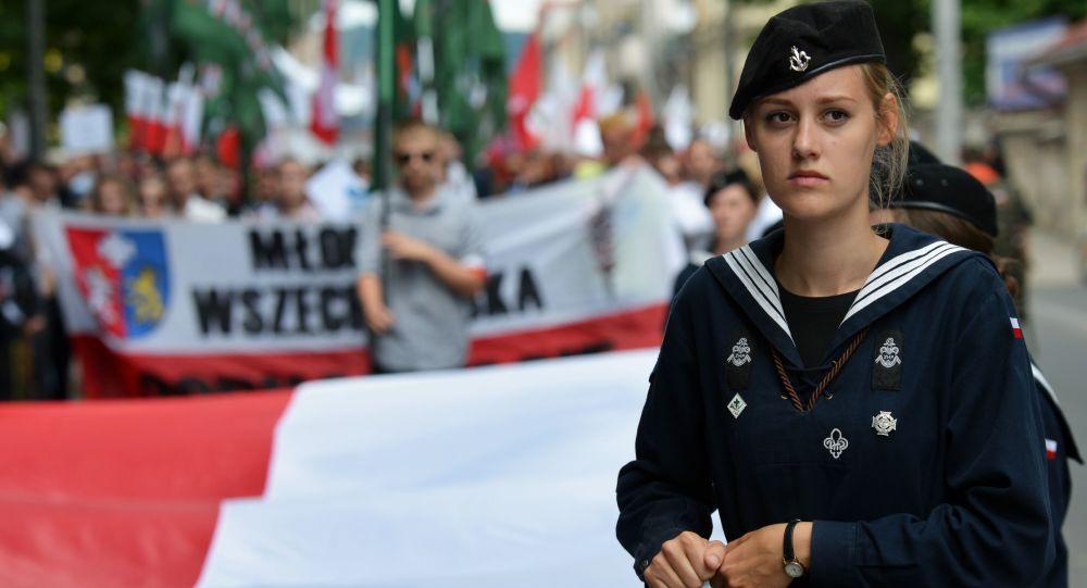 W przeddzień rocznicy Rzezi Wołyńskiej przeciwnicy współczesnych naśladowców Bandery odbyli marsz ulicami Przemyśla.