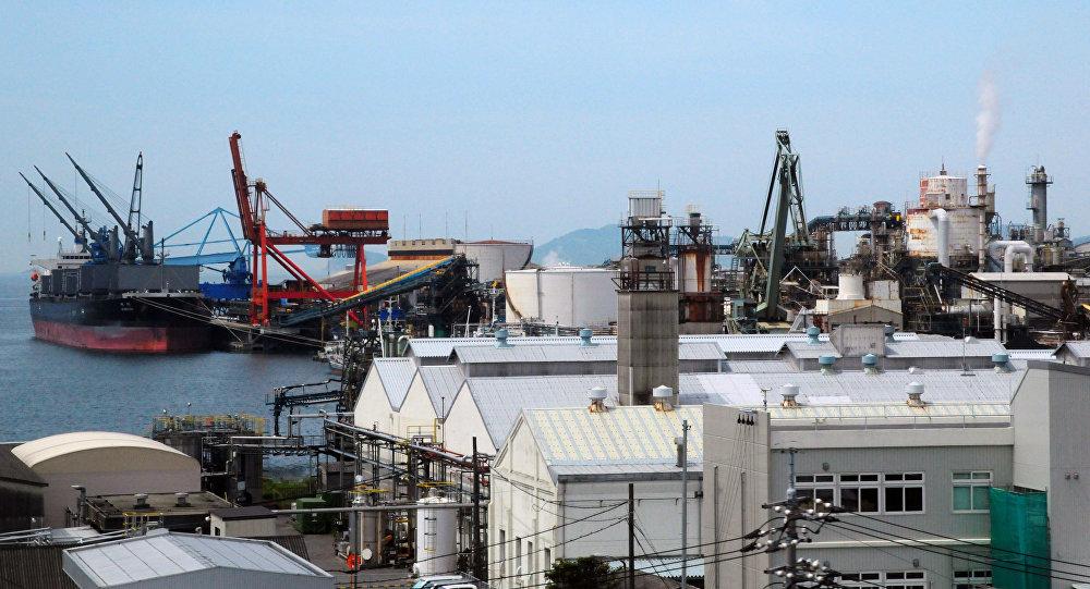 Port Tokuyama-Kudamatsu w japońskiej prefekturze Yamaguchi