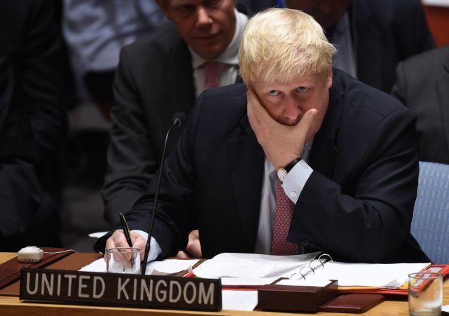 Boris Johnson, minister spraw zagranicznych Wielkiej Brytanii