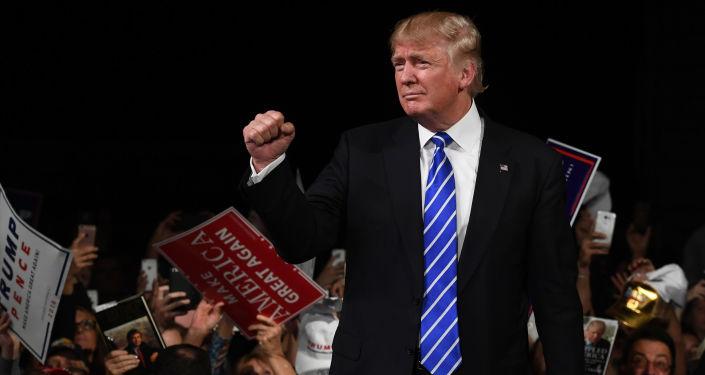 Kandydat Republikanów w wyborach prezydenckich Donald Trump