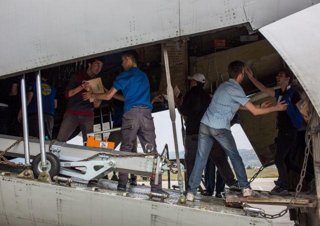 Rosja dostarczyła do Aleppo pomoc humanitarną