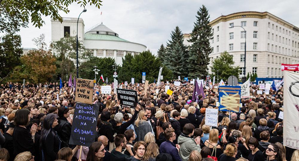 Protest pod Sejmem, 01.10.2016