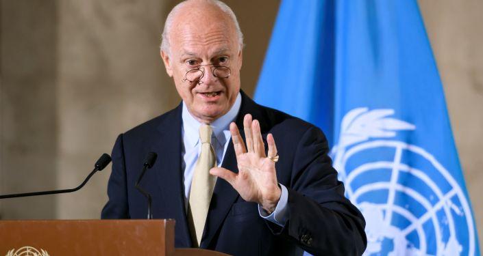 Specjalny wysłannik sekretarza generalnego ONZ ds. Syrii Staffan de Mistura