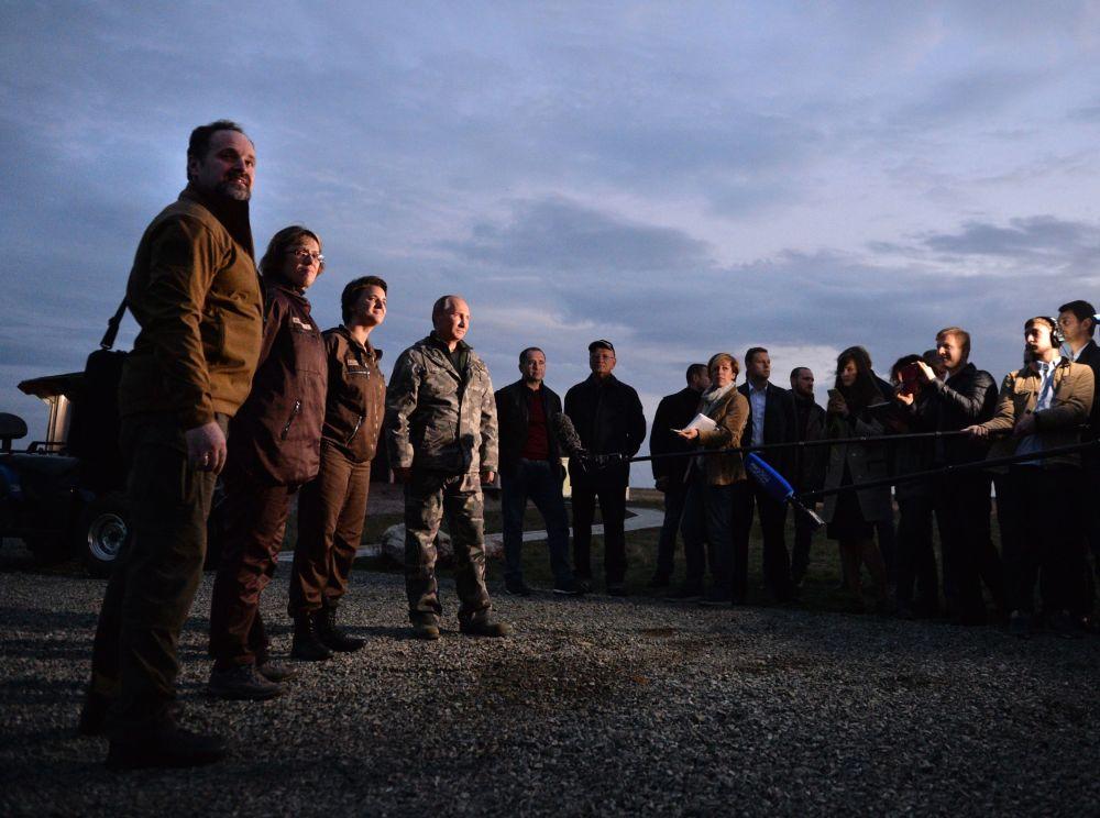 Rosyjski prezydent w Centrum Reintrodukcji Koni Przewalskiego