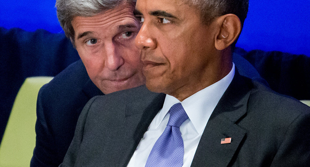 John Kerry i Barack Obama