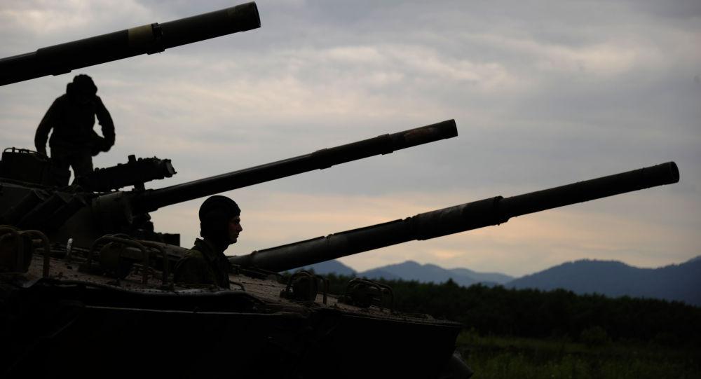 Woronesko-Szumlenska Brygada Zmechanizowana w Osetii Północnej