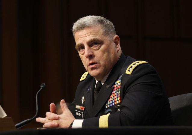Szef sztabu wojsk lądowych USA generał Mark Milley