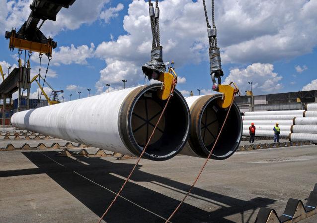 Budowa gazociągu Turecki Strumień