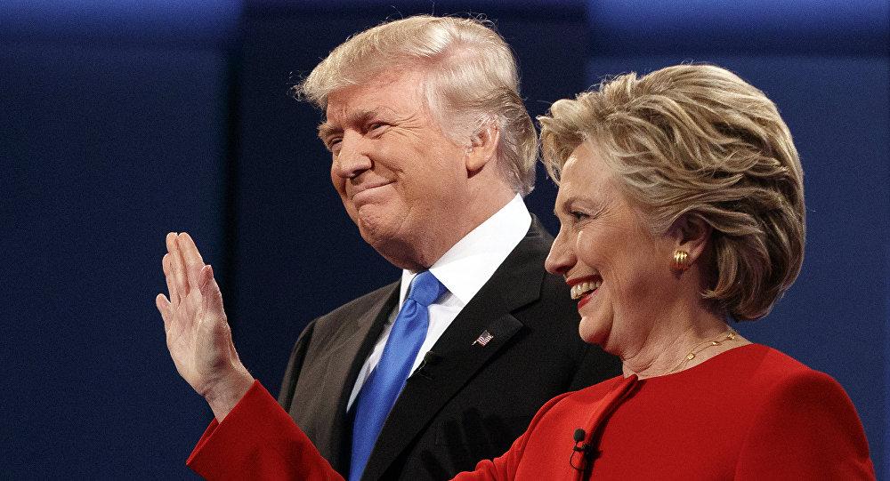 Kandydaci Partii Republikańskiej i Demokratycznej na prezydenta USA Donald Trump i Hillary Clinton