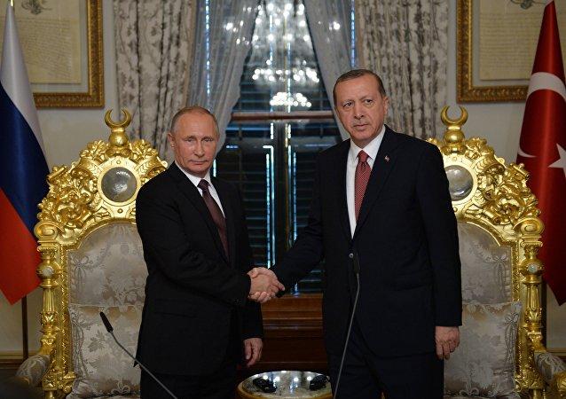Wizyta prezydenta Rosji Władimira Putina w Stambule, 10 października 2016