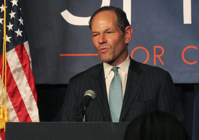 Były gubernator stanu Nowy Jork Eliot Spitzer