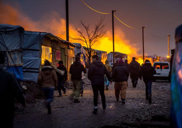 Migranci. Calais