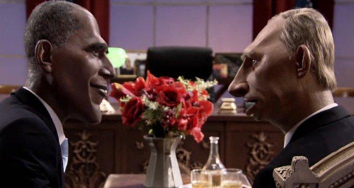 Francuzi pogodzili Obamę i Putina