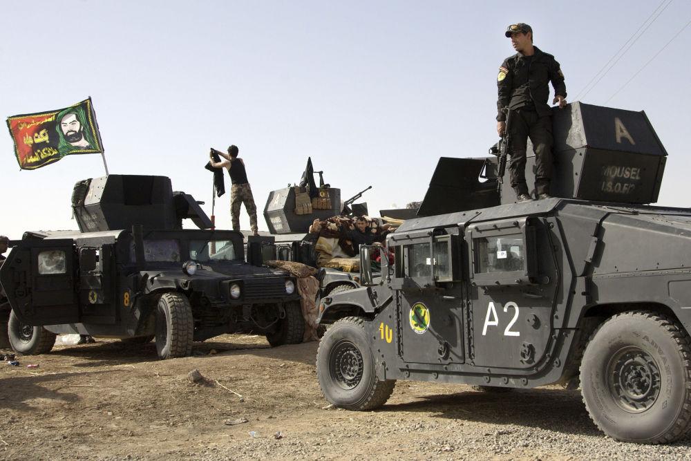 W mieście mogą znajdować się terroryści wyparci wcześniej z irackich miast Ramadi, Tikrit i Bajdżi.