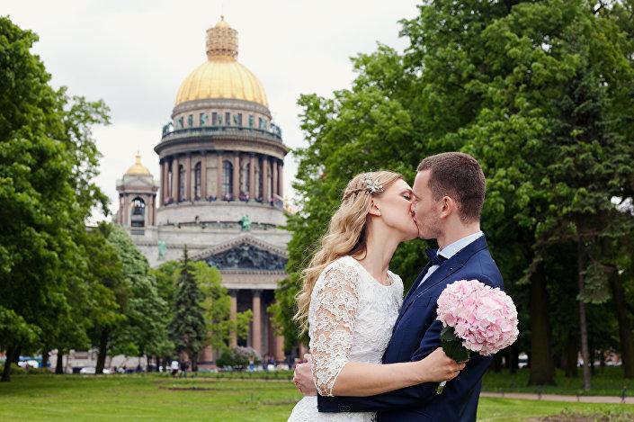 Nasz ślub - Petersburg - 27.05.2016.