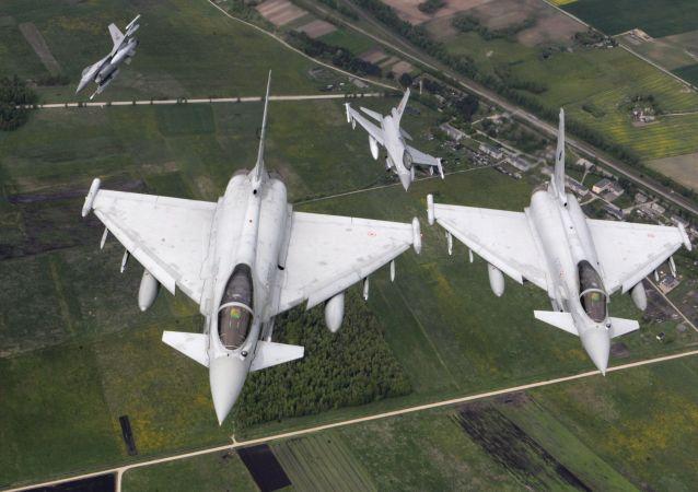 Siły powietrzne Włoch i Norwegii patrolują niebo nad regionem bałtyckim
