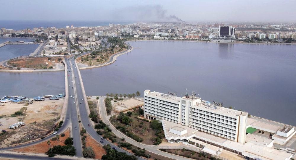 Panorama na libijskie miasto Bengazi