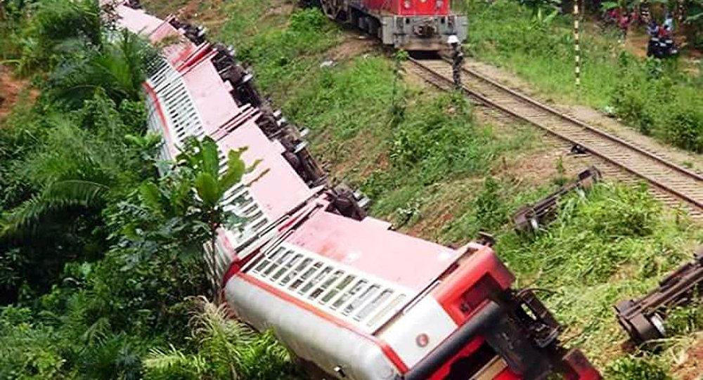 Katastrofa kolejowa w Kamerunie