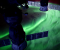 Zorza polarna na Ziemi utrwalona z Międzynarodowej Stacji Kosmicznej.