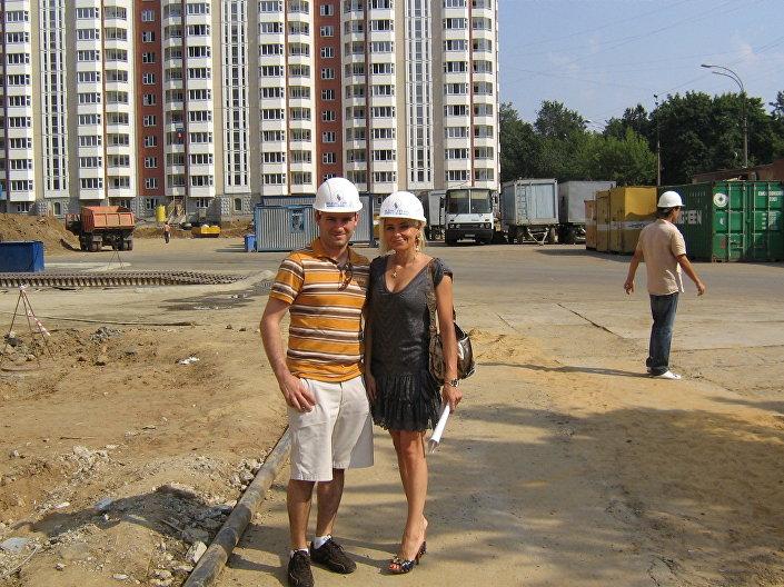 Plac budowy naszego osiedla.