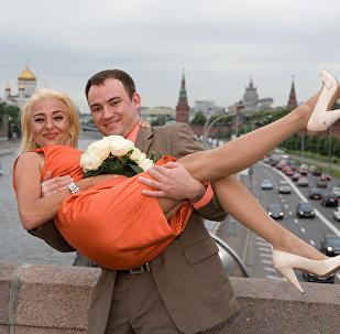 Nasz ślub w Moskwie, 2009 rok.