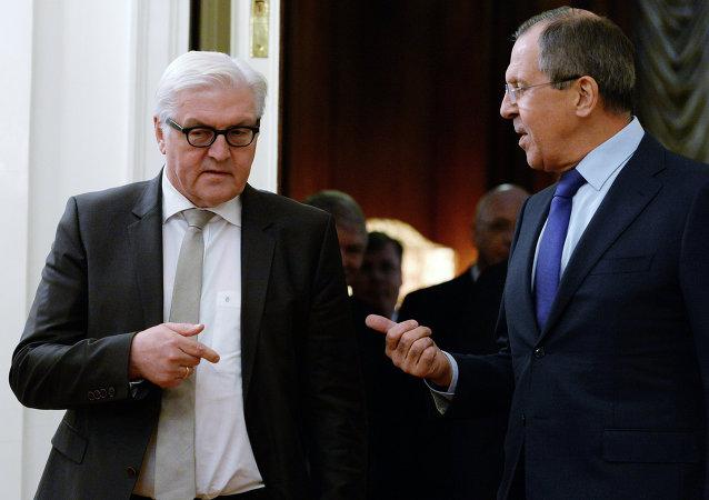 Szefowie MSZ Rosji i Niemiec