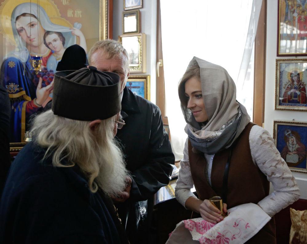 Władyka wyraził również wdzięczność Pokłońskiej, z której inicjatywy rozpoczęto budowę.