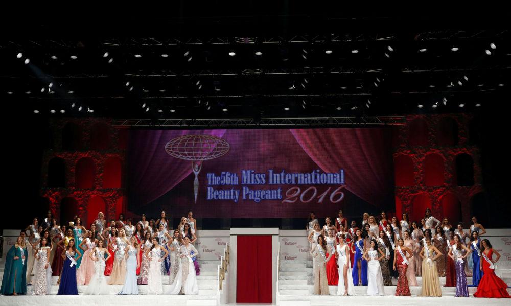 Uczestniczki corocznego konkursu Miss International Beauty Pageant - 2016 w Tokio