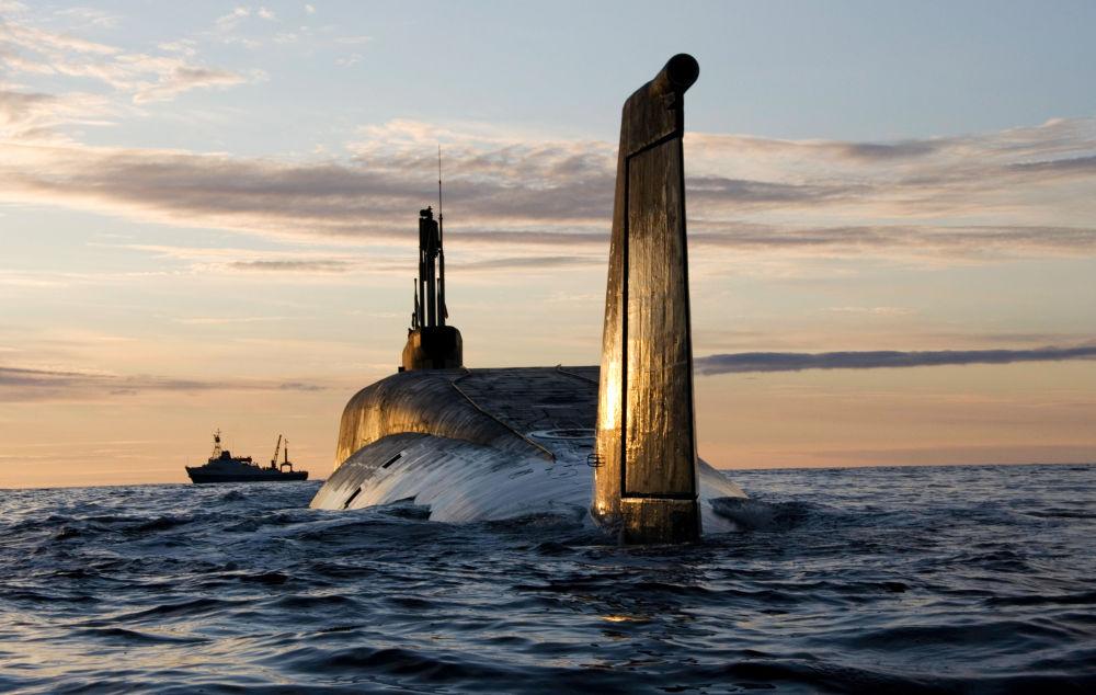 Rosyjski okręt podwodny Jurij Dołgoruki