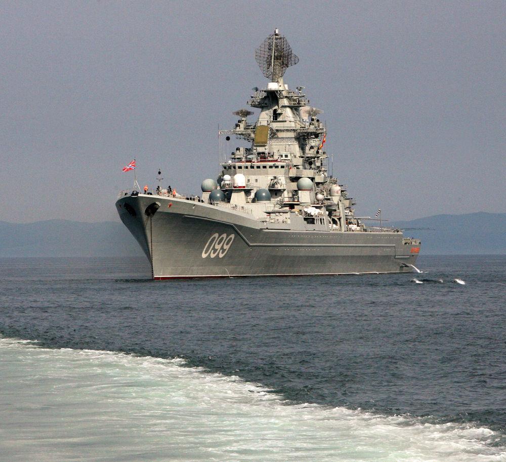 Krążownik rakietowy z napędem atomowym Piotr Wielikij