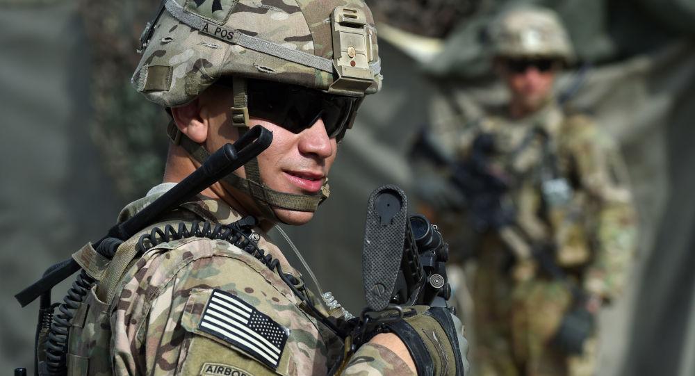 Amerykański wojskowy w Afganistanie