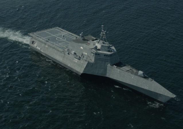 USS Montgomery LCS 8