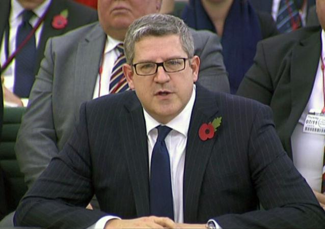 Szef brytyjskiej Służby Bezpieczeństwa MI5 Andrew Parker