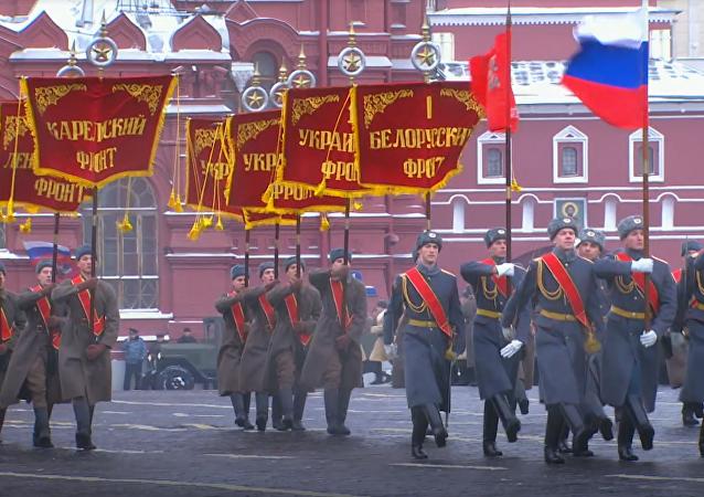 Dzisiaj na Placu Czerwonym...