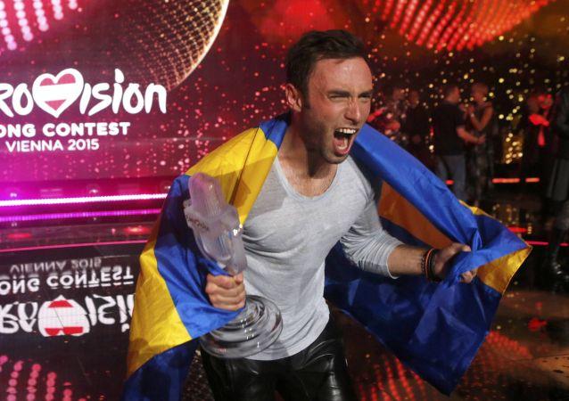 Zwycięzca konkursu - Måns Zelmerlow ze Szwecji