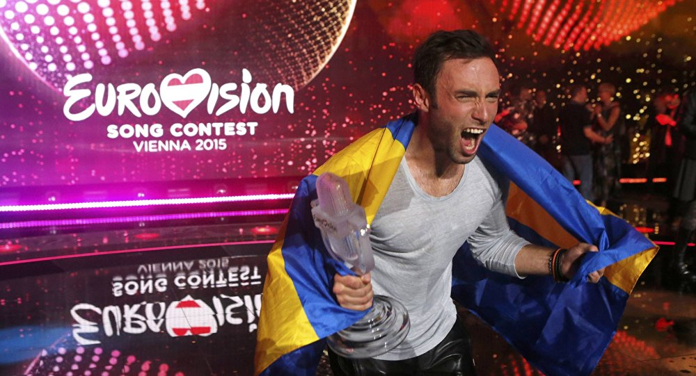 Zwycięzca 60. Konkursu Piosenki Eurowizja 2015 Måns Zelmerlow ze Szwecji