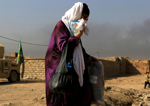 Teren działań wojennych, Mosul