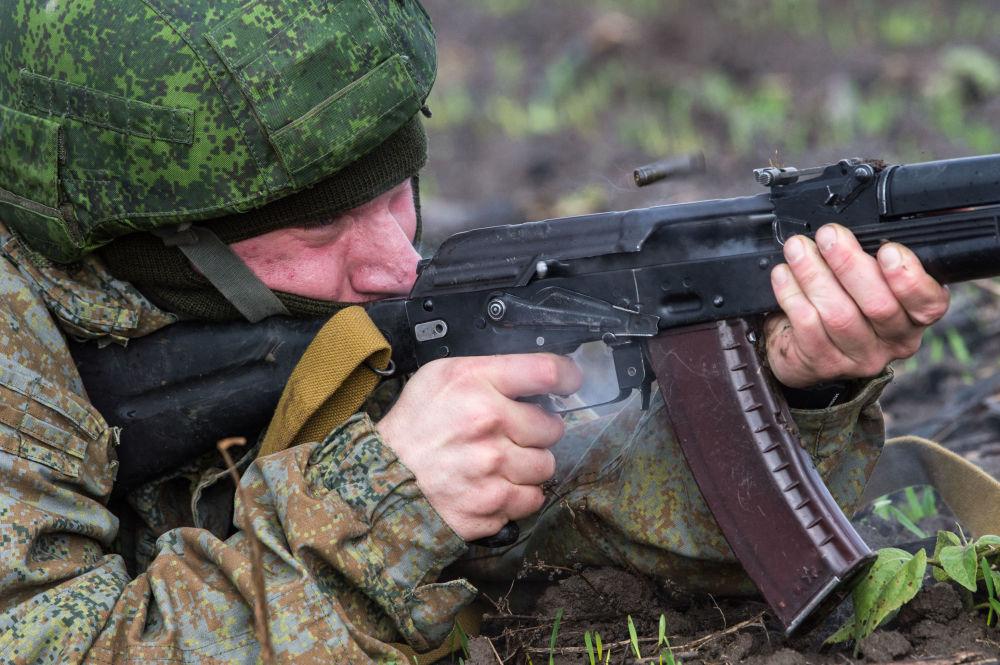 Serbię w ćwiczeniach reprezentują wojskowi Brygady Sił Specjalnych Sił Zbrojnych Republiki Serbii.
