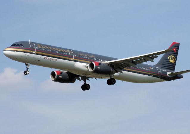 Airbus A321-200 Jordańskich Linii Lotniczych