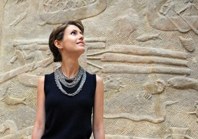 Żona prezydenta Syrii Asma al-Assad