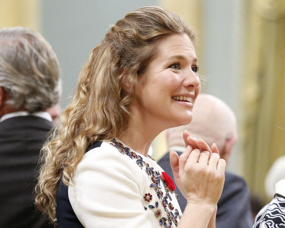 Żona premiera Kanady Sophie Gregoire