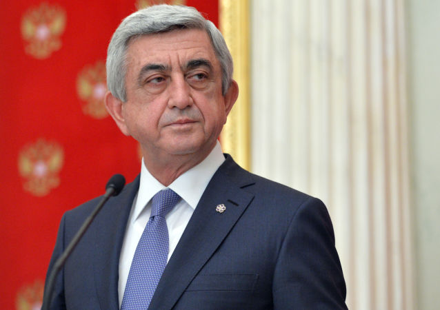 Prezydent Armenii Serż Sarkisjan