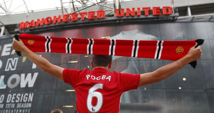 Kibic Manchesteru United